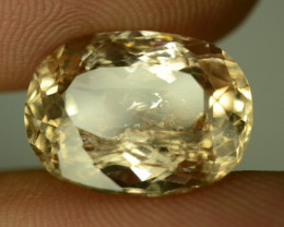 9.20 ct Natural Imperial  Topaz  from Katlang Mine, Pakistan