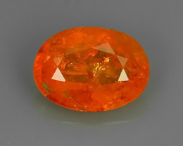 2.15 CTS BRILLIANT! 100%NATURAL HOT ORANGE MANDARIN SPESSARTITE GARNET AAA
