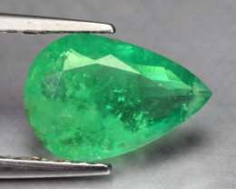 1.05 Cts Natural Earth Mined Green Color Colombian Emerald Gemstone