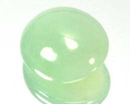 ~UNTREATED~ 3.11 Cts Natural Milky Green Jade Cabochon Burmese