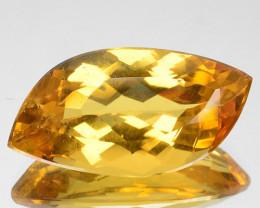 ~AMAZING~ 19.60 Cts Natural Golden Yellow Beryl Fancy Cut Brazil Gem