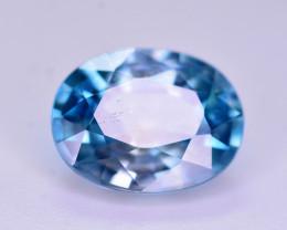 Vibrant Blue 2.75 Ct Natural Zircon From Cambodia. RA1