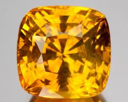 4.42 Cts Beautiful Natural Corundum Yellow Sapphire Srilanka Gem
