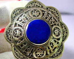 255.80 Cts Unheated & Natural ~Blue Lapis Lazuli Pendant