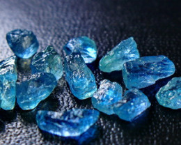 42.80 CT Unheated ~ Natural Blue Apatite Rough