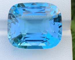 Assher Cut 56.32 Carats Topaz Gemstones