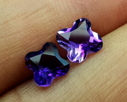1.65Crt Fancy amethyst Natural Gemstones JI67