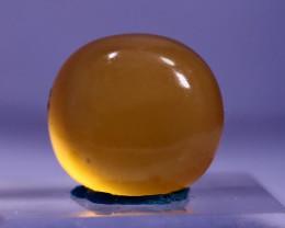 21.30 CT Natural - Unheated Orange Calcite  Cabochon