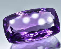 25.61 Crt Natural Amethyst Faceted Gemstone.( AB 06)