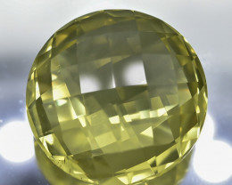 14.79 Crt Natural Lemon Quartz Faceted Gemstone.( AB 06)