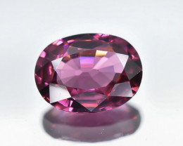 1.36 Crt Natural Rhodolite Garnet Faceted Gemstone.( AB 06)