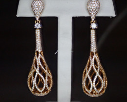 5.50tcw Diamond Earrings