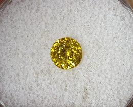0,95ct Sphalerite - high dispersion gemstone!