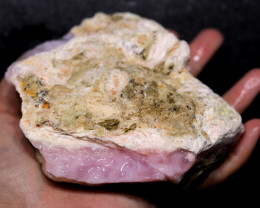 2380.00 CTS LARGE PINK OPAL SPECIMEN FROM PERU [F8404]