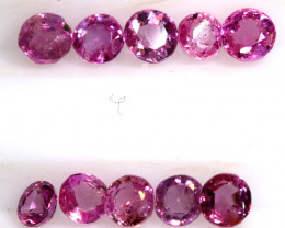 1.98 CTS NATURAL RUBY FACETED STONE PARCEL PG-3195