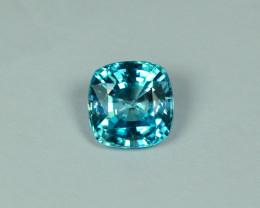2.316 Cts Fabulous Lustrous Cambodian Blue Zircon