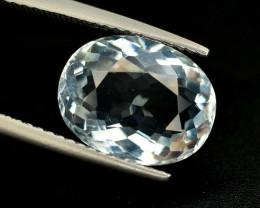 3.70 Ct Natural Aquamarine Gemstone