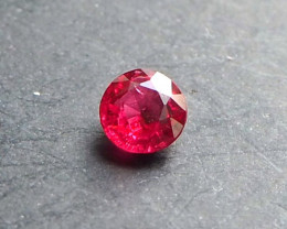 Vivid red (Jedi) Spinel from Myanmar