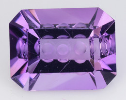 5.76 Ct  Natural Amethyst Top Cutting Top Quality Gemstone. AT 43
