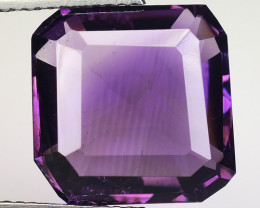 9.76 Ct  Natural Amethyst Top Cutting Top Quality Gemstone. AT 45
