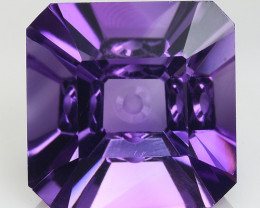 8.26 Ct  Natural Amethyst Top Cutting Top Quality Gemstone. AT 47