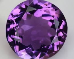 8.08 Ct  Natural Amethyst Top Cutting Top Quality Gemstone. AT 48