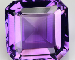 9.12 Ct  Natural Amethyst Top Cutting Top Quality Gemstone. AT 49