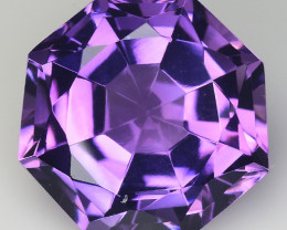 8.94 Ct  Natural Amethyst Top Cutting Top Quality Gemstone. AT 50
