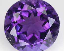 7.45 Ct  Natural Amethyst Top Cutting Top Quality Gemstone. AT 54