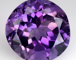9.48 Ct  Natural Amethyst Top Cutting Top Quality Gemstone. AT 55