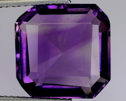 9.24 Ct  Natural Amethyst Top Cutting Top Quality Gemstone. AT 66