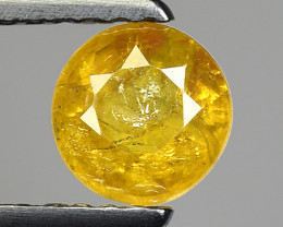 0.74 Ct Yellow Sapphire Top Quality  Gemstone. YS 11