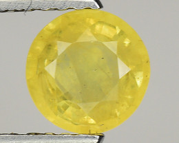 0.87 Ct Yellow Sapphire Top Quality  Gemstone. YS 15