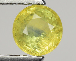 0.67 Ct Yellow Sapphire Top Quality  Gemstone. YS 17