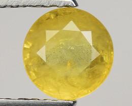 0.83 Ct Yellow Sapphire Top Quality  Gemstone. YS 19