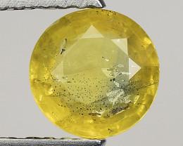 0.95 Ct Yellow Sapphire Top Quality  Gemstone. YS 20