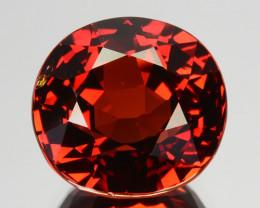 6.46 Cts GORGEOUS NATURAL RARE MANDRAIN RED  SPESSARTITE GARNET
