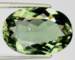 8.53 Cts DAZZLING NATURAL GREEN TOURMALINE MOZAMBIQUE (Video Avl)