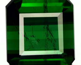 11.15 Cts GIGANTIC NATURAL GREEN TOURMALINE MOZAMBIQUE (Video Avl)