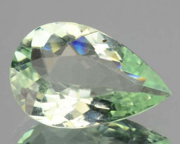 1.32 Cts Natural Green Paraiba Tourmaline Mozambique (Video Avl)