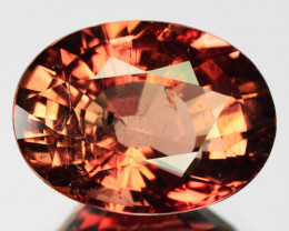 5.70 Cts ATTRACTIVE NATURAL ORANGISH BROWN TOURMALINE MOZAMBIQUE (Video Avl