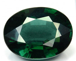 6.85 Cts NATURAL TOURMALINE - BLUISH GREEN - OVAL - MOZAMBIQUE