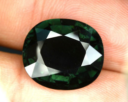 9.95 Cts Natural Blue Green Tourmaline Oval Cut Mozambique Gem (Video Avl)