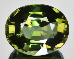 11.45 Cts RAVISHING NATURAL GREEN TOURMALINE MOZAMBIQUE GEM
