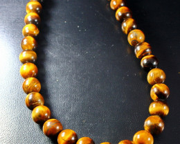 403  ct Unheated ~ Natural Golden Tiger Beads