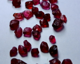 50 ctsNatural - Unheated Purple Garnet Rough Lot