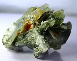 495.00 CT Natural - Unheated Green Chlorine Quartz Specimen