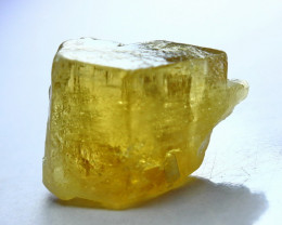 47.40 CT Natural  Beautiful  Yellow Heliodor Mineral Crystal