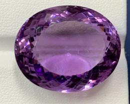 50.11 Carats Amethyst  Gemstones