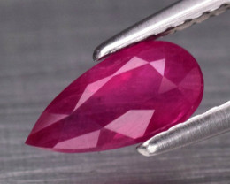 Natural Normal Heated Ruby - 0.92 ct